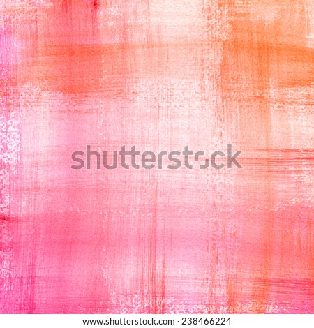 Abstract hand drawn watercolor background. Aquarelle colorful texture. Bright festive backdrop. - stock photo