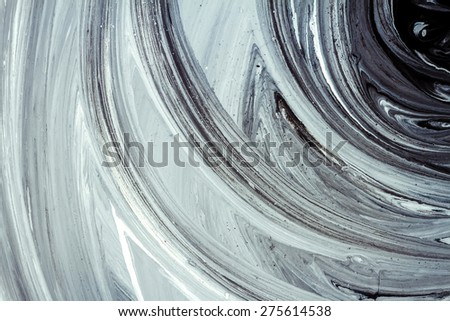 Abstract hand painted acrylic paint art background  - stock photo