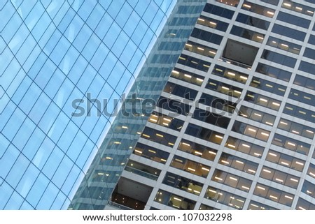 Abstract High Rise Building 2 - stock photo