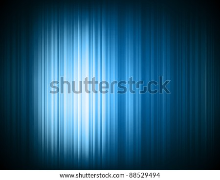 Abstract high tech blue light effect background - stock photo