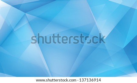 Abstract ice light blue background - stock photo