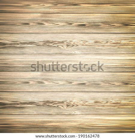 Abstract illustration background texture of an old natural wooden darken room with messy and grungy cracked tree floor of beech inside vintage warm rural interior with wood, shadows, dingy, dim light - stock photo