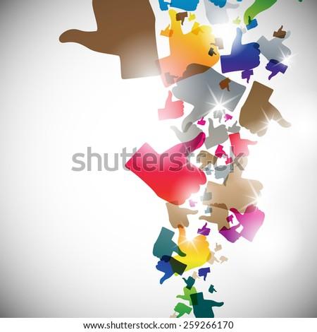 abstract illustration, jpg - stock photo