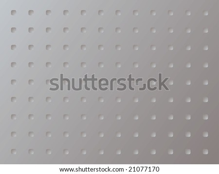 Abstract illustration of a metal anti slip background using squares