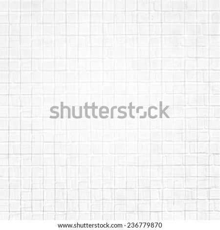 Abstract illustration weathered texture stained old stucco light gray and aged paint white brick wall background in rural room, grungy rusty blocks of stonework technology color architecture wallpaper - stock photo