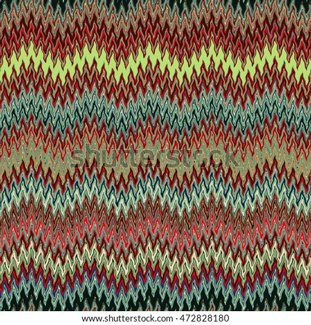 Abstract image, colorful graphics and tapestries   It can be used as a pattern for the fabric