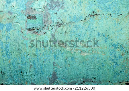 Abstract image of antique copper texture. - stock photo