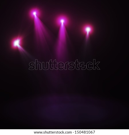 Abstract image of  lighting flare