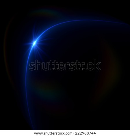 Abstract image of  lighting flareAbstract image of  lighting flare