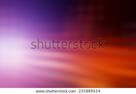Abstract image of night traffic in the city - stock photo