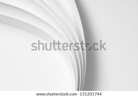 abstract in the paper 3 - stock photo