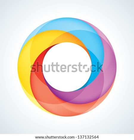 Abstract Infinite Loop Sign Template. Corporate Icon. - stock photo