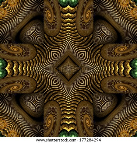 Abstract Intricate seamless pattern background