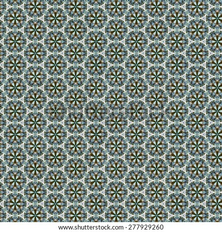 Abstract kaleidoscopic texture or background pattern design