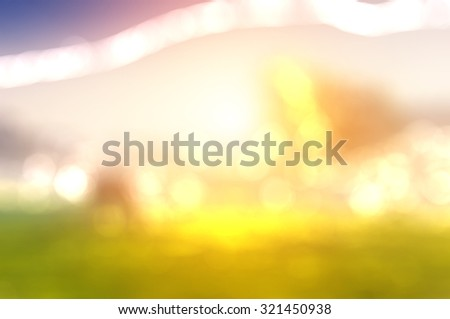 abstract landscape blur background for web design,colorful,texture, wallpaper,illustration - stock photo