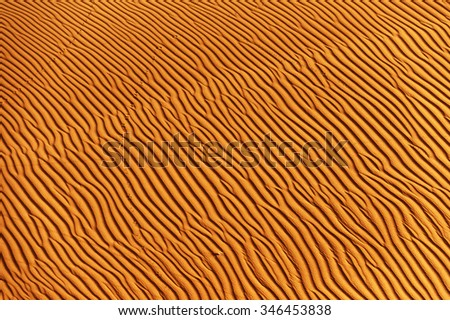 Abstract landscape in Sahara Desert, Africa - stock photo