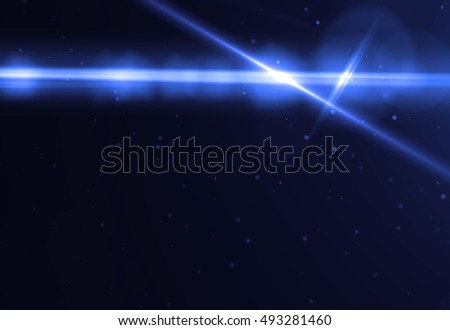 Abstract laser streak light on black background (super high resolution)