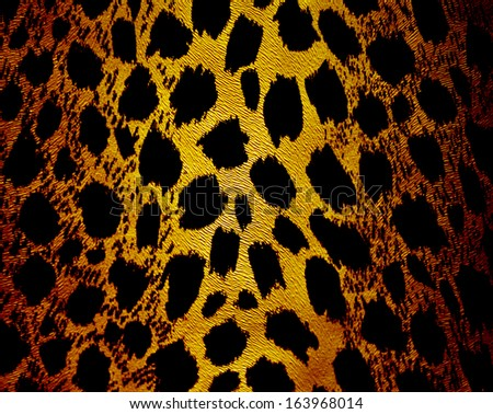 Abstract leopard texture - stock photo