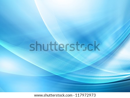 Abstract light blue background