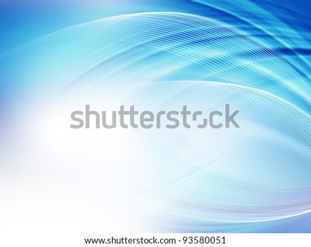 Abstract light blue background - stock photo
