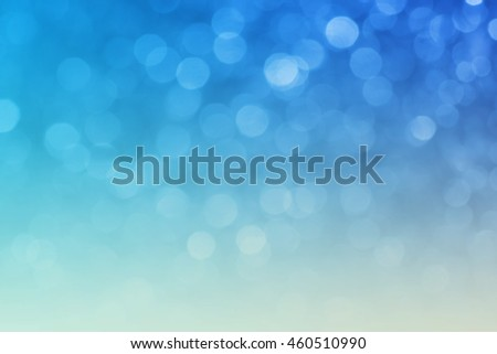 abstract light blue of bokeh for backdrop - can use to display or montage on product