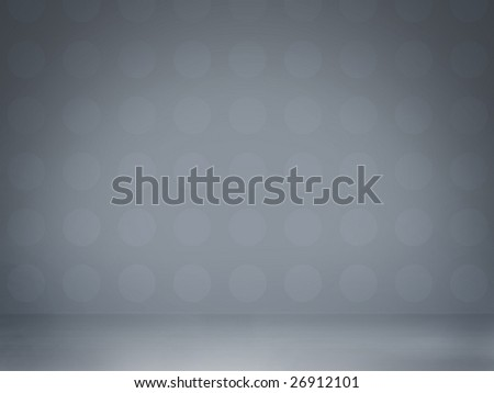 Abstract light blue studio interior, perfect glamour background - stock photo