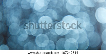 Abstract light bokeh as background - stock photo