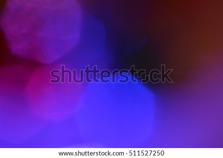 Abstract light bokeh background. Colorful Blurred Wallpaper. Photo with place for text.