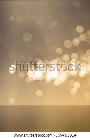 abstract light bokeh background made with color filters, soft focus - stock photo