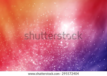 abstract light bokeh bright multicolored background - stock photo