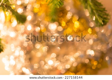 abstract light celebration background with de focused lights - stock photo