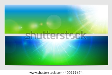Abstract Light Colored Background Illustration  - stock photo