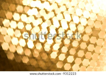 Abstract light golden background - stock photo