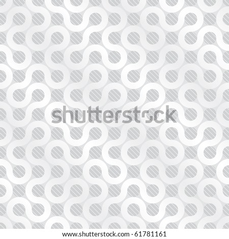Abstract light gray flow background (seamless pattern or texture) - stock photo
