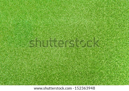 Abstract light green glitter background - stock photo