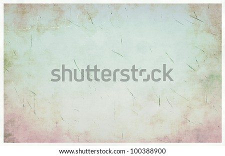 Abstract light  grunge vintage background - stock photo