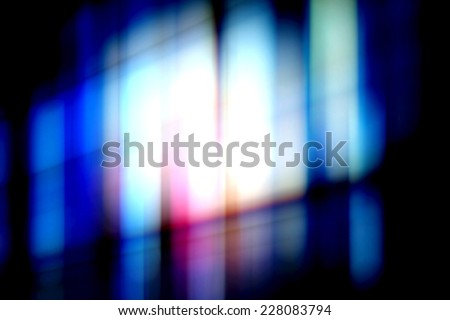 Abstract light in the dark background. - stock photo