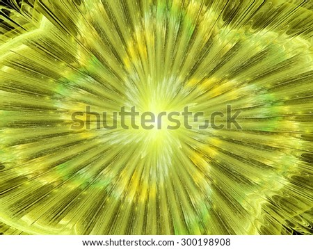 Abstract light neon background. Glowing futuristic dynamic color background with lighting effect for creative design. Shiny decoration for wallpaper desktop, poster, cover booklet, flyer. Fractal art - stock photo