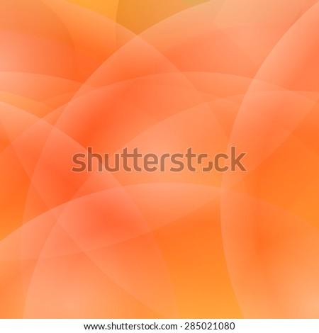 Abstract Light Orange Background. Blurred Orange Pattern. - stock photo