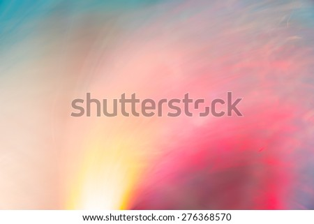 Abstract Light painting tone on black background -  long exposure time lapse and technique and blurred picture style - stock photo