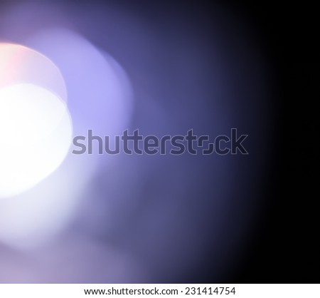 Abstract lighting background from cristal light  - stock photo