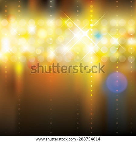 Abstract lighting blurry background. - stock photo