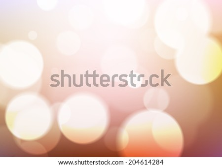 Abstract lights background. Blurred background.