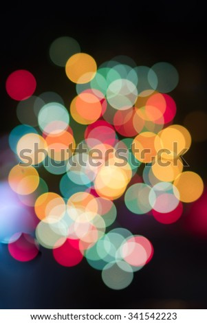 Abstract lights using as background or wallpaper.