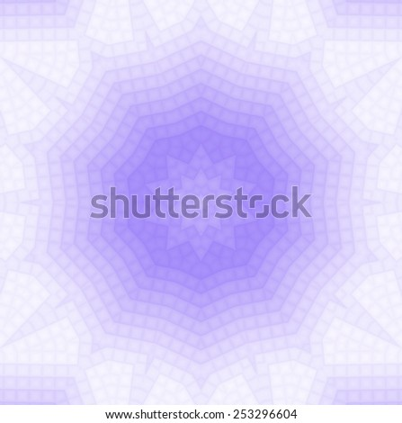 Abstract lilac background of squares pattern - stock photo