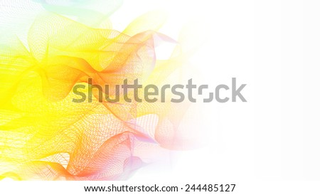 Abstract line/wave background/banner