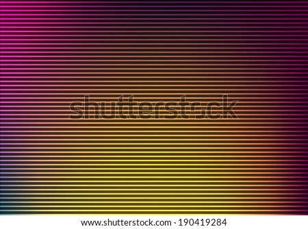 Abstract lines design on dark background. - stock photo