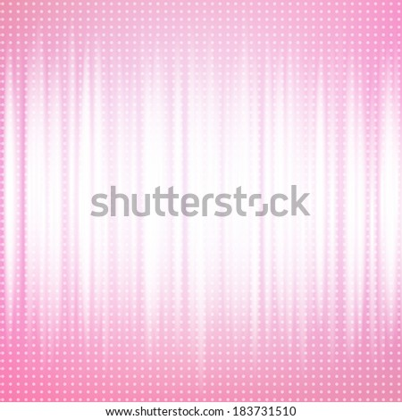 Abstract lines on pink tone background.