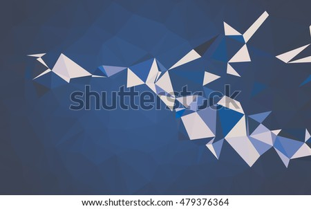 Abstract low poly background, geometry triangle, mosaic pastel color background