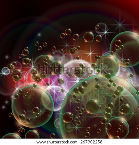 abstract luminescent  background